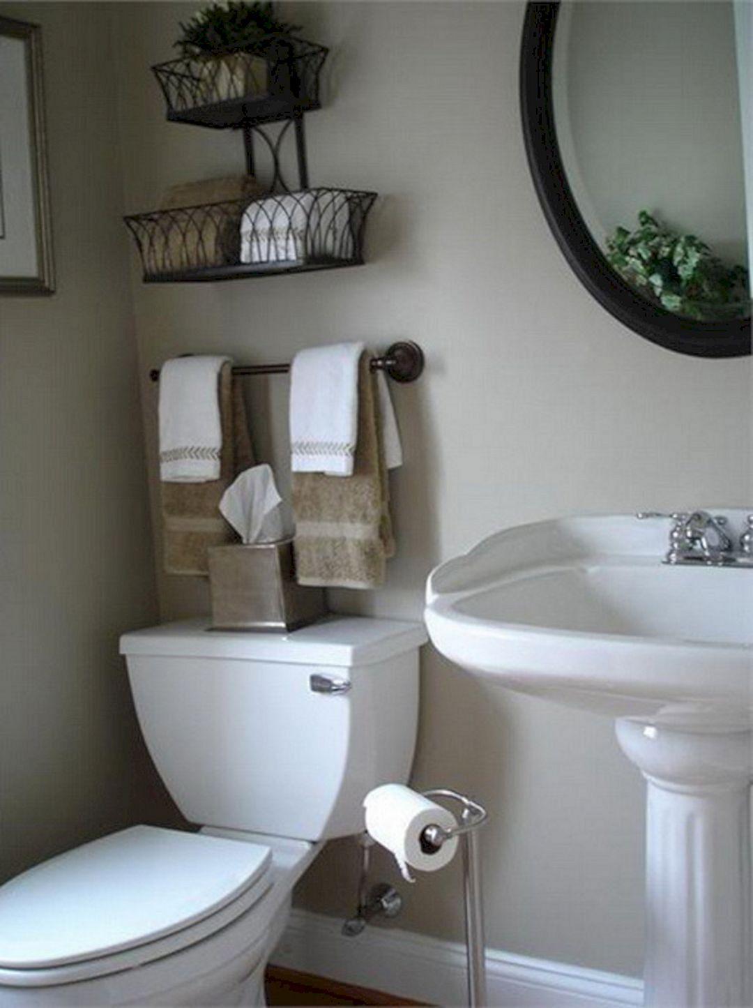 Организация пространства в ванной комнате фото 14