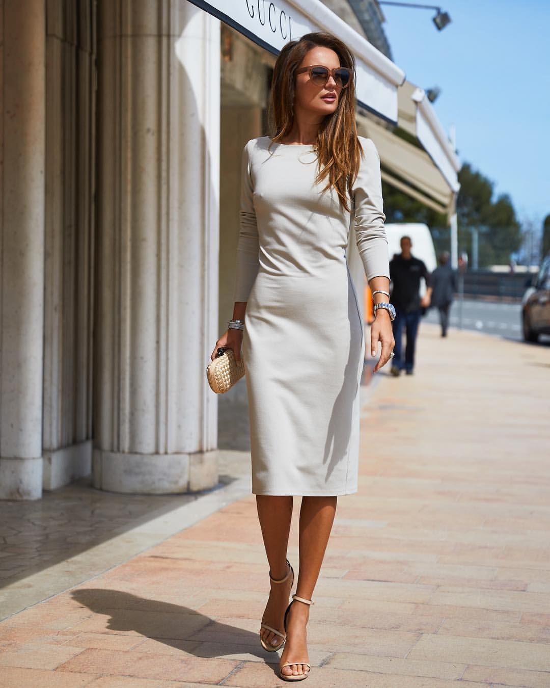 Платье футляр 2020 фото 3