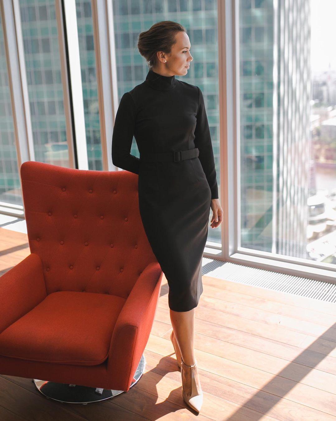 модные образы для бизнес-леди осень 2019 фото 1