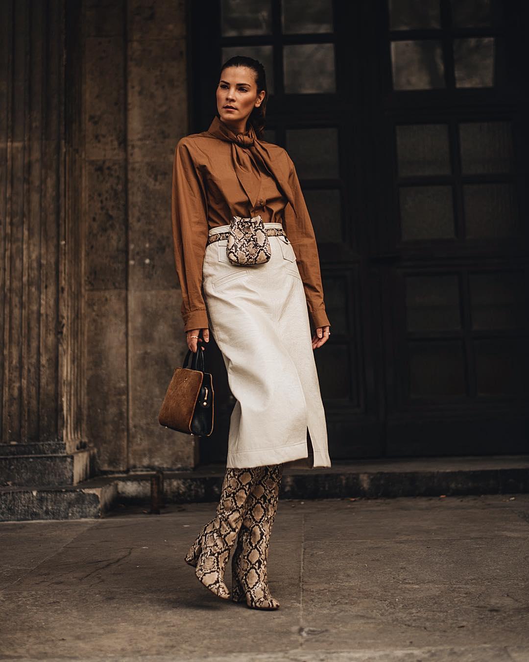 модные образы для бизнес-леди осень 2019 фото 12