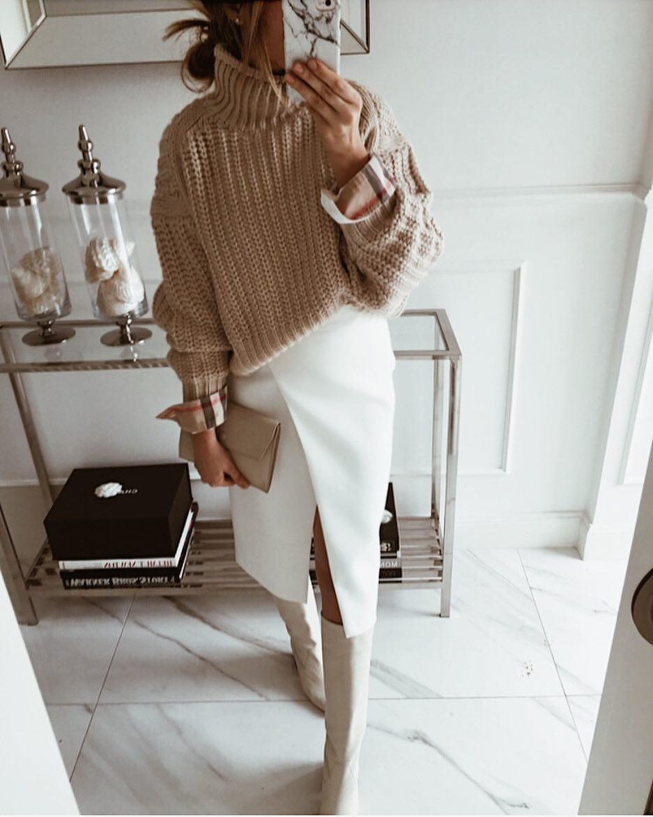 белая юбка 2020 фото 4