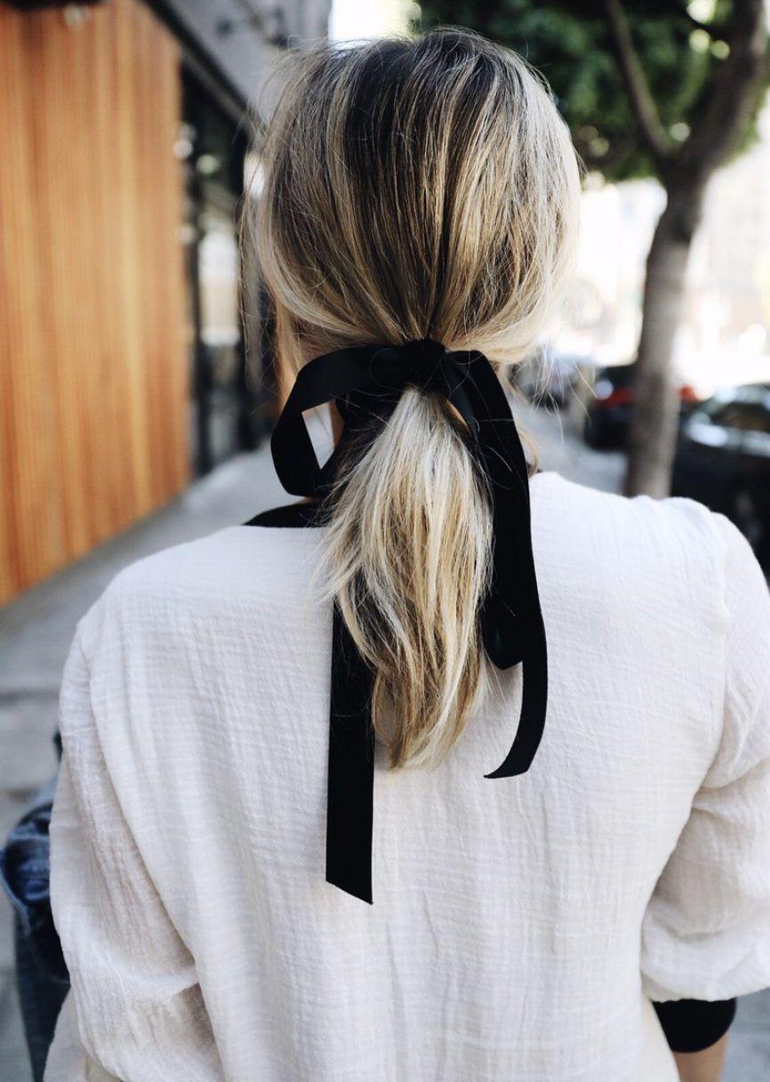 причёски с хвостом фото 10