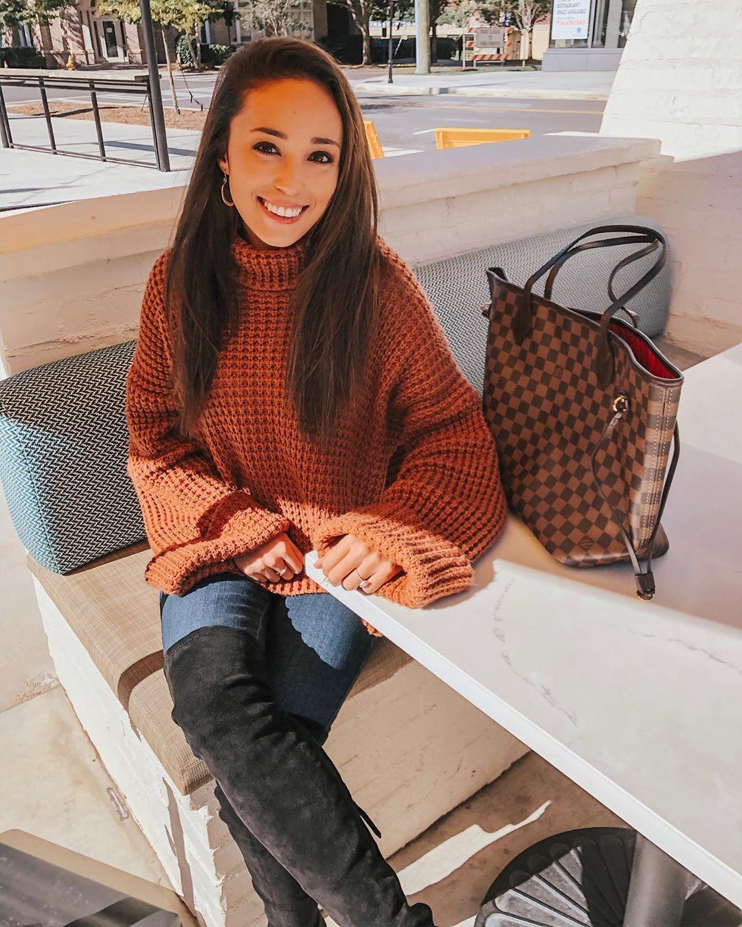 Вязаный свитер 2020 фото 7