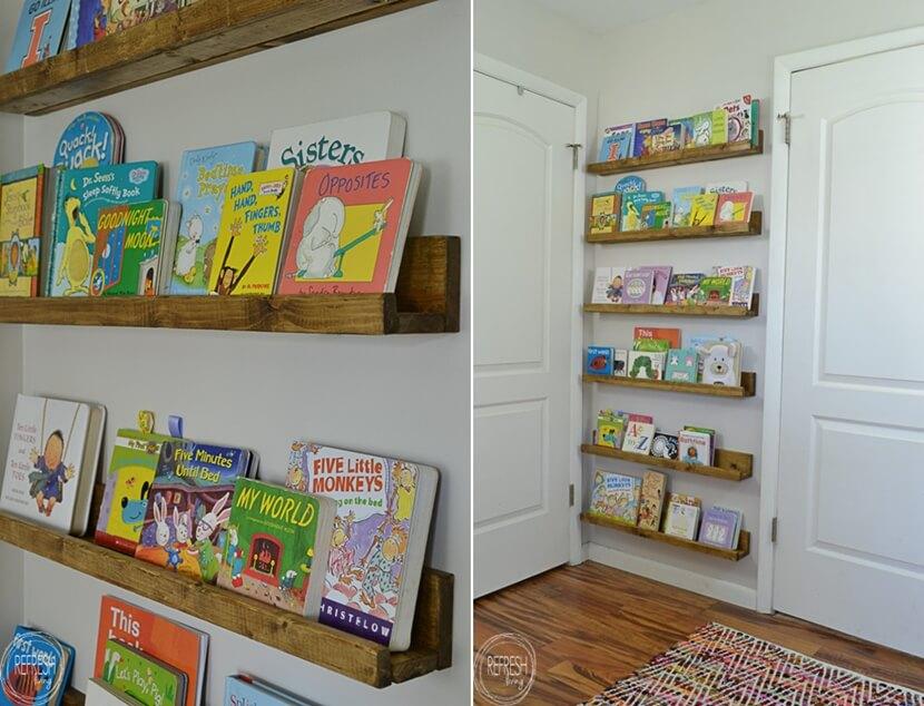 хранение детских книг фото 7