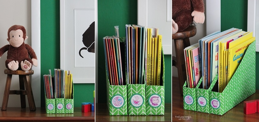 хранение детских книг фото 8