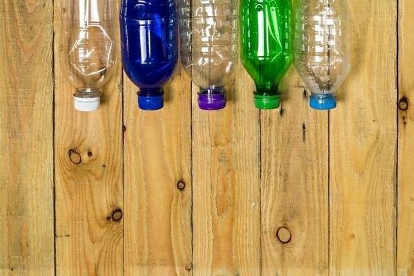 Дачная мебель из пластиковых бутылок