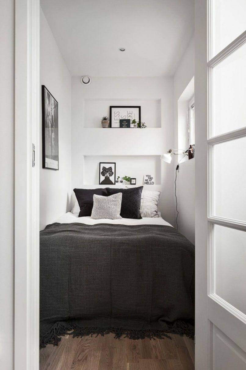 dizajn interera nebolshoj spalni 12 stilnyh variantov