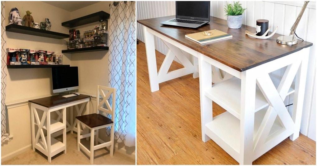 krasivyj stilnyj i funkcionalnyj stol svoimi rukami