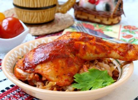 kurinye okorochka v tomatno smetannom souse 1