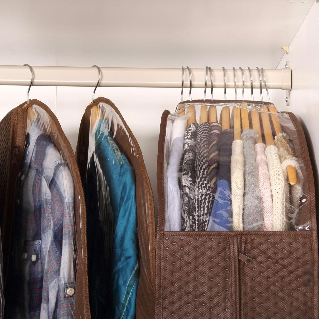 11 sposobov organizovat hranenie odezhdy v garderobe