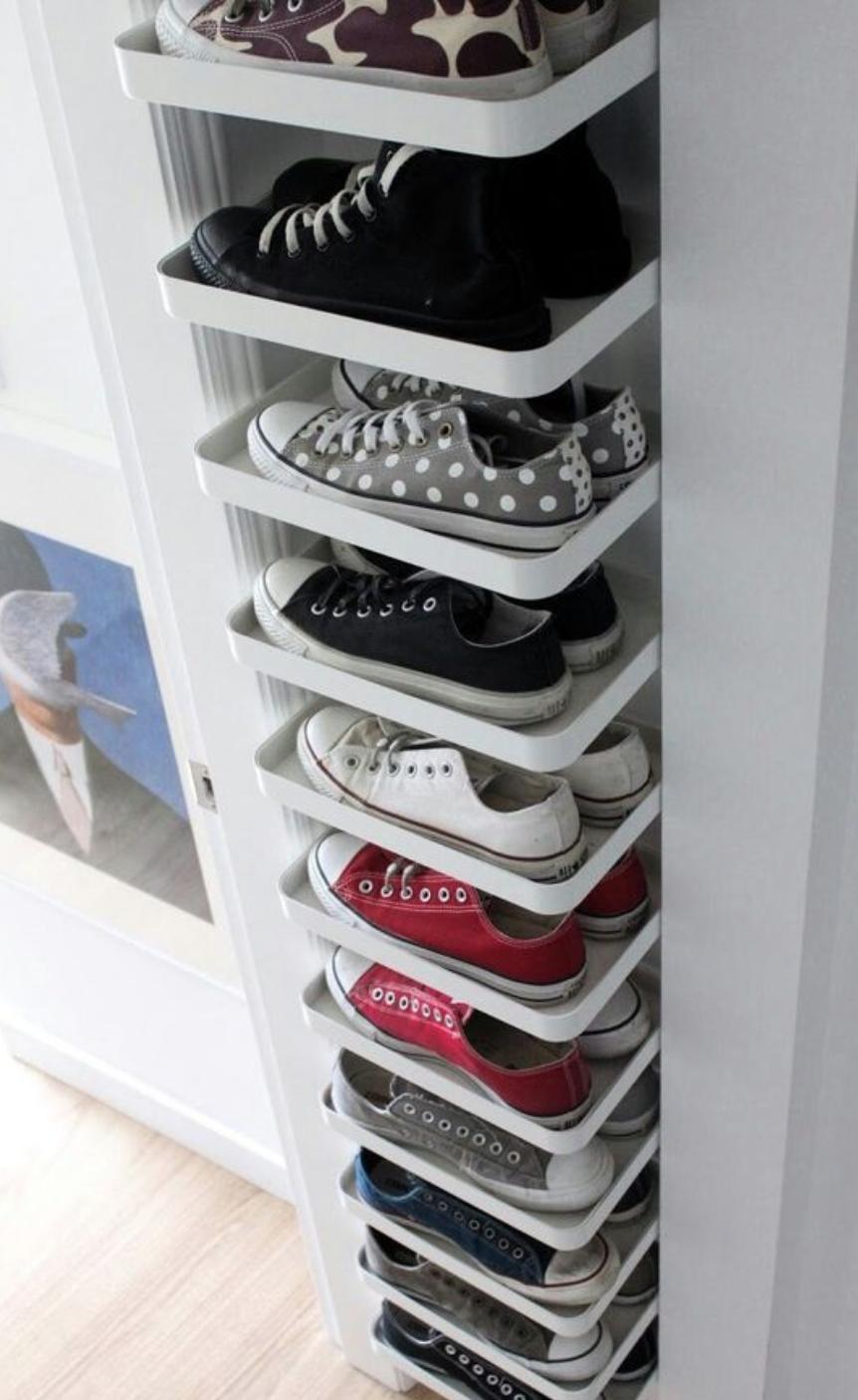 хранение одежды в гардеробе фото 3