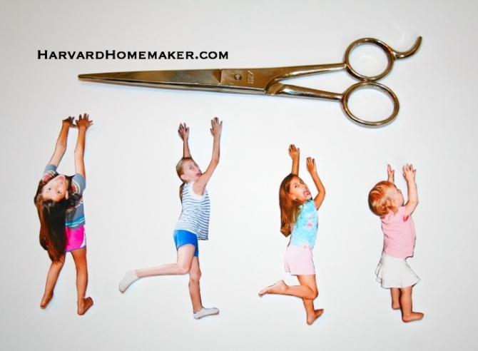 Fun Photo Bookmarks: Kids Hanging On - Harvard Homemaker