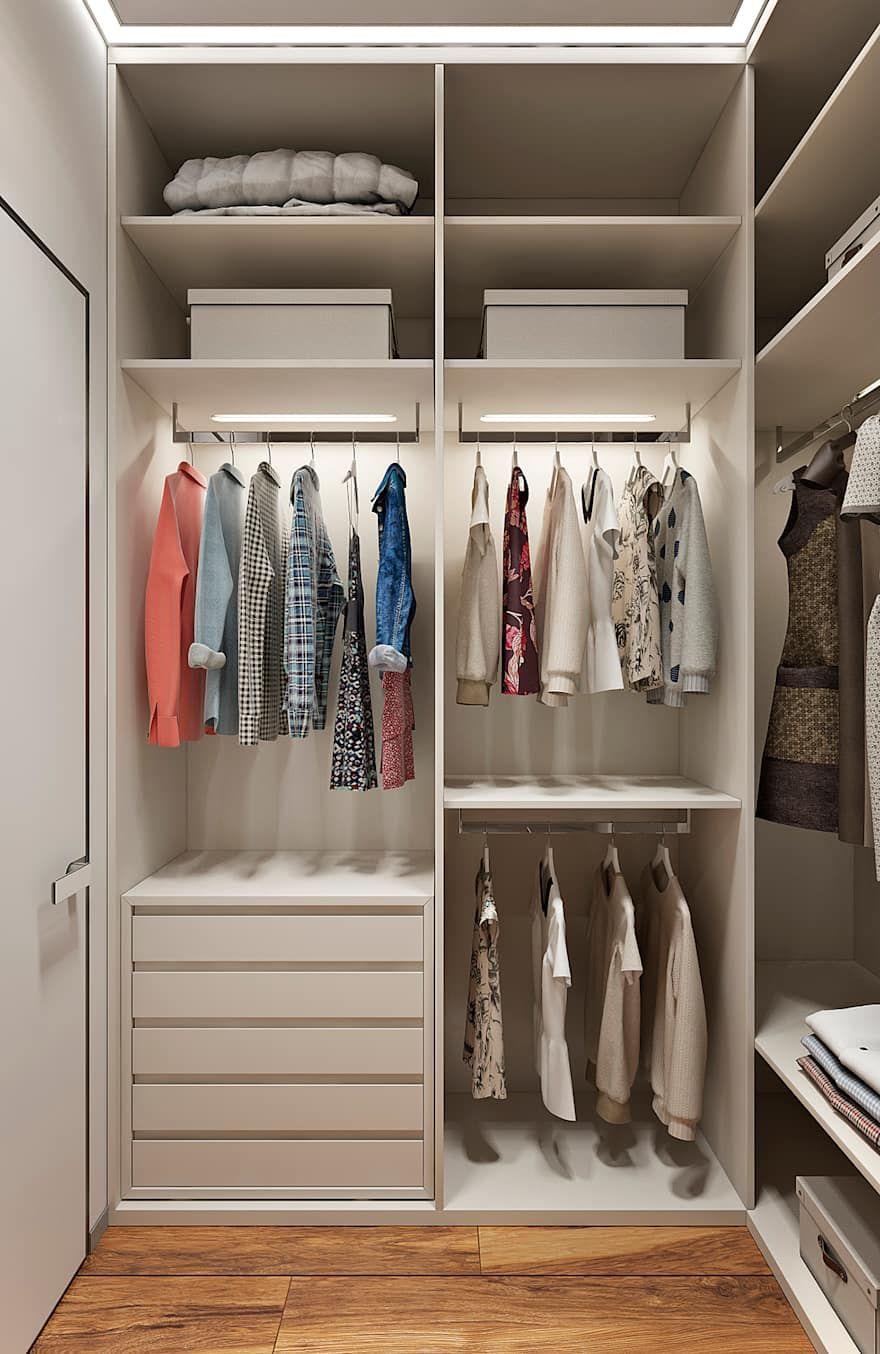 хранение одежды в гардеробе фото 4