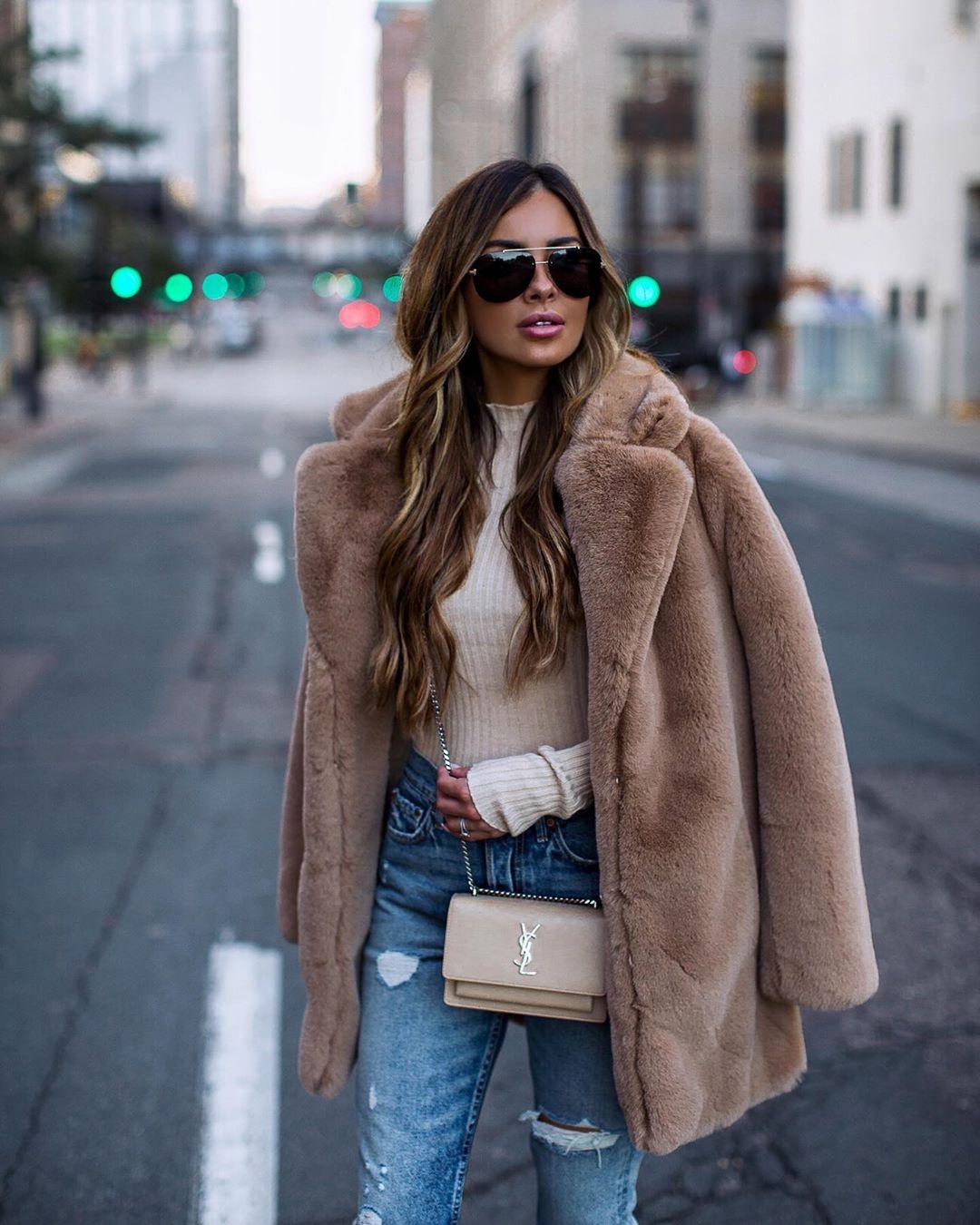 модные луки зима 2020 фото 8