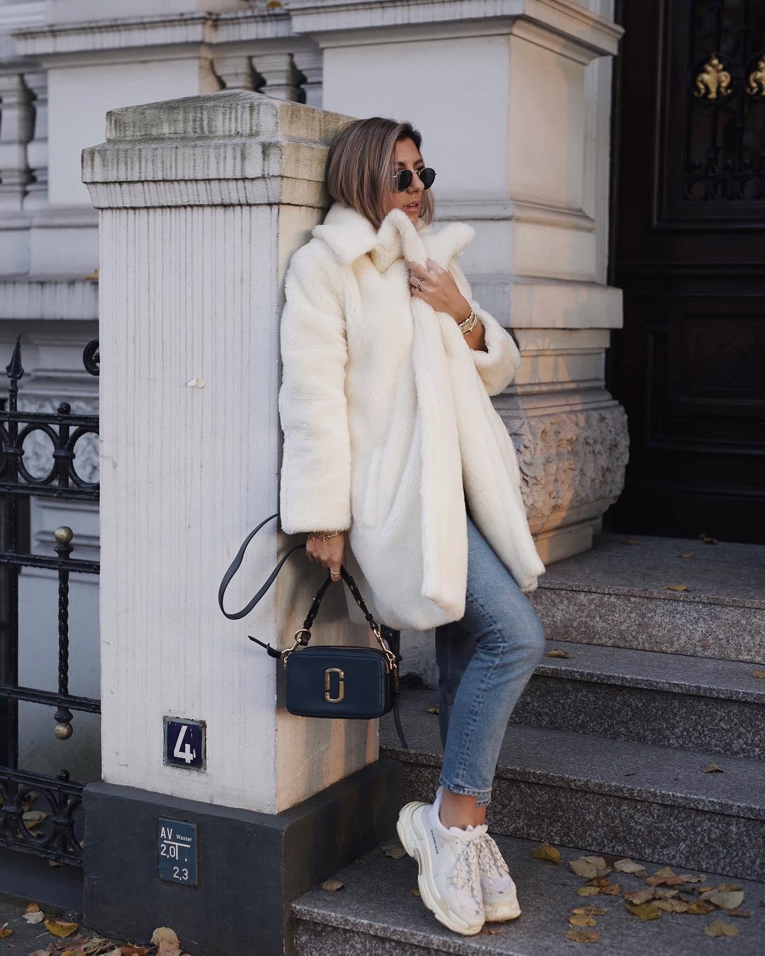 с чем носить джинсы зимой фото 5