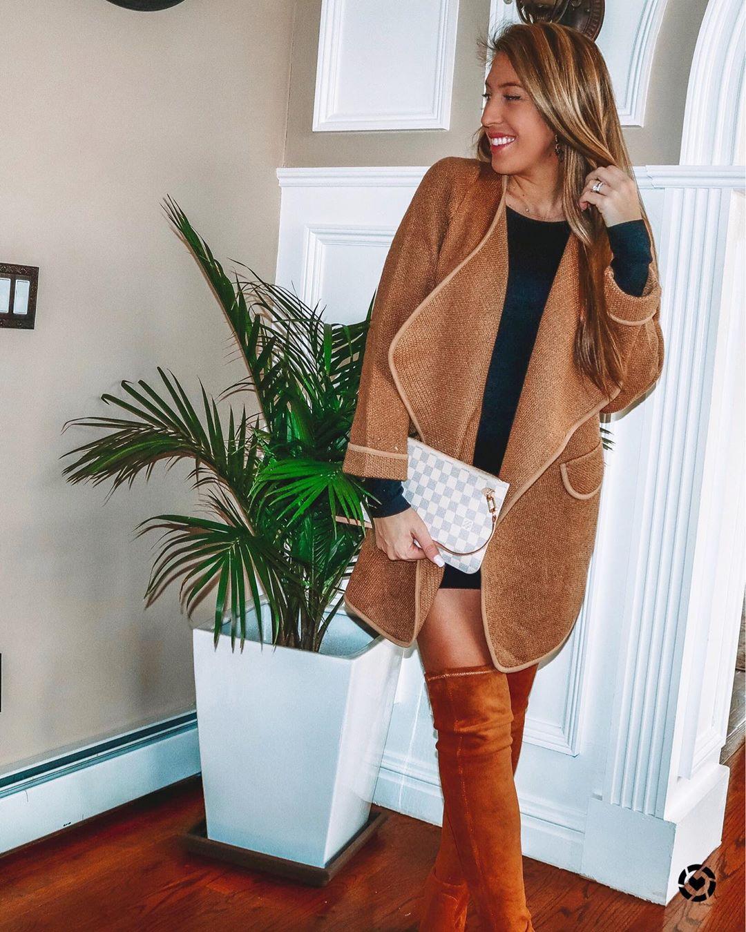 модные луки зима 2020 фото 6