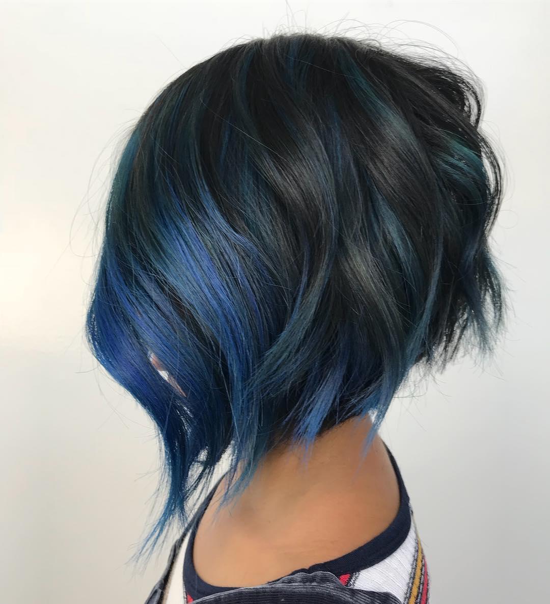Укладка на короткие волосы с объемом фото 2