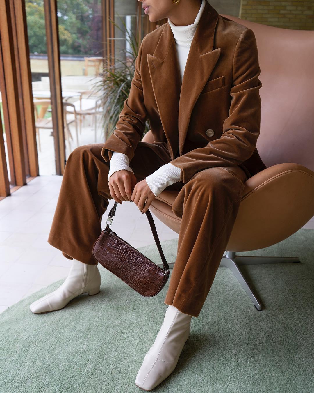 коричневая сумка фото 7