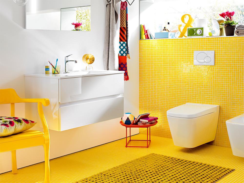 Жёлтый цвет в интерьере фото 18