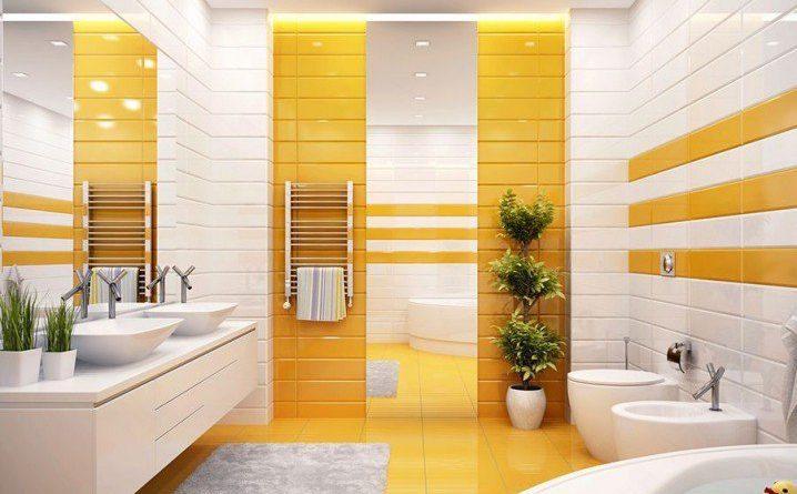 Жёлтый цвет в интерьере фото 3