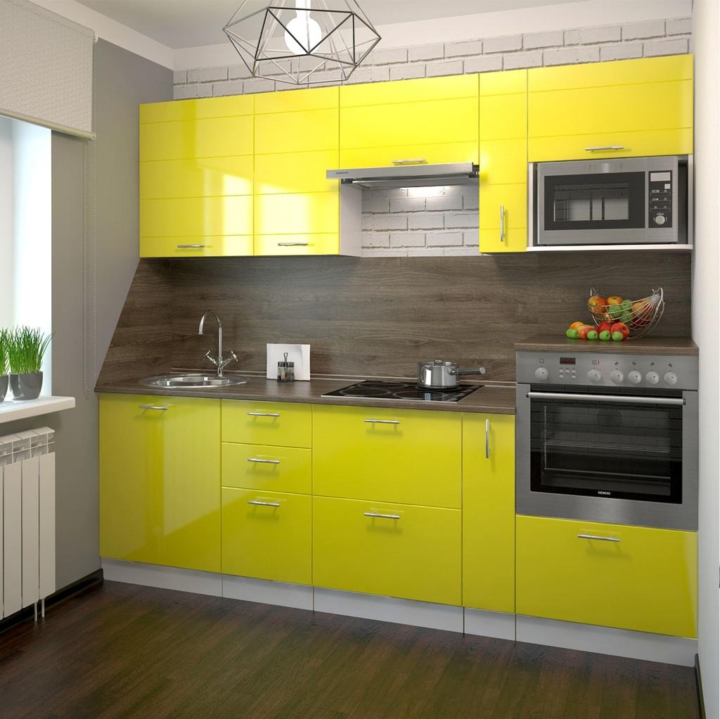 Жёлтый цвет в интерьере фото 11