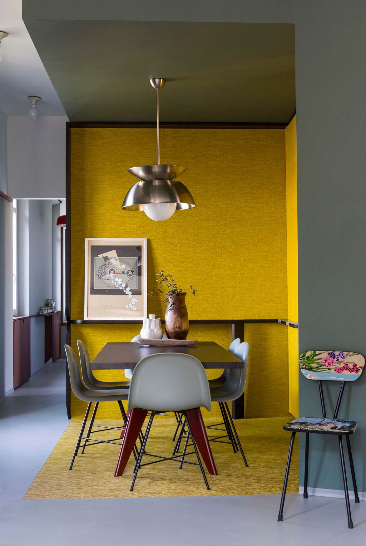 Жёлтый цвет в интерьере фото 2