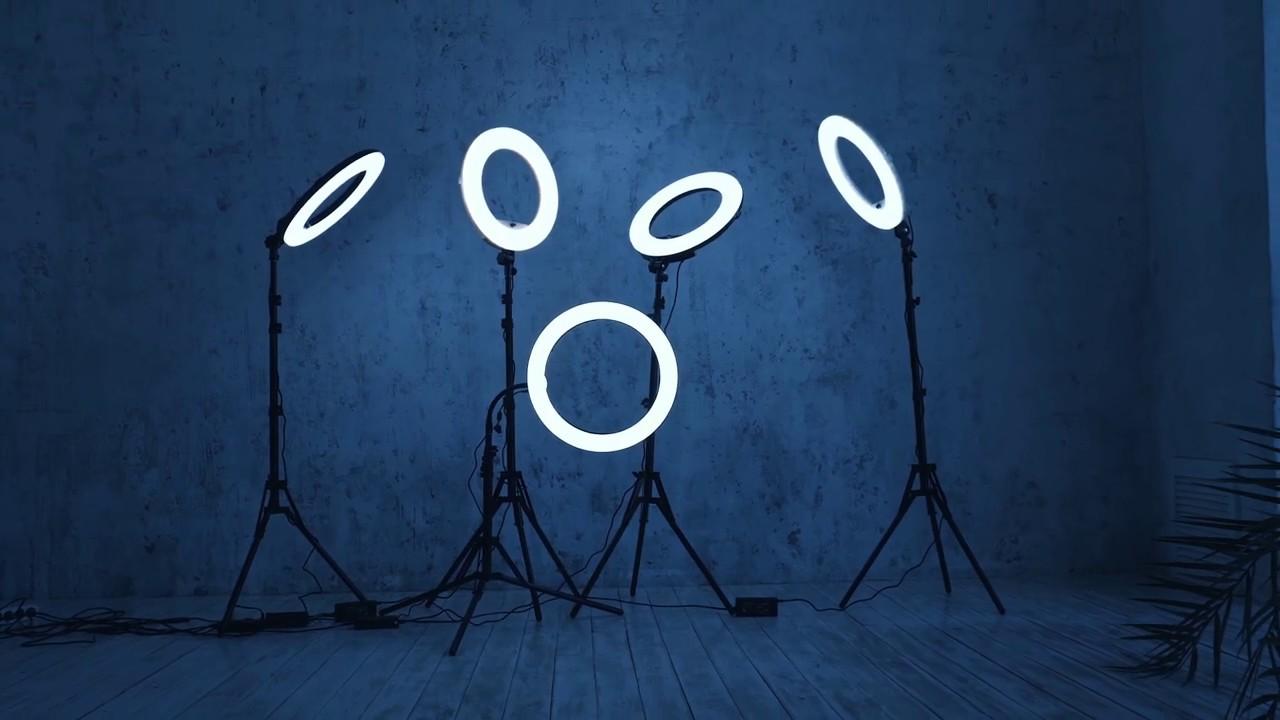 кольцевые лампы фото 2