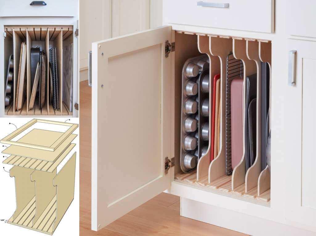Организация пространства на кухне фото 1