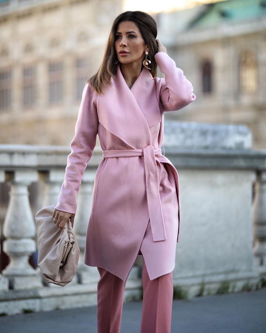 Пальто с поясом 2020 фото 1