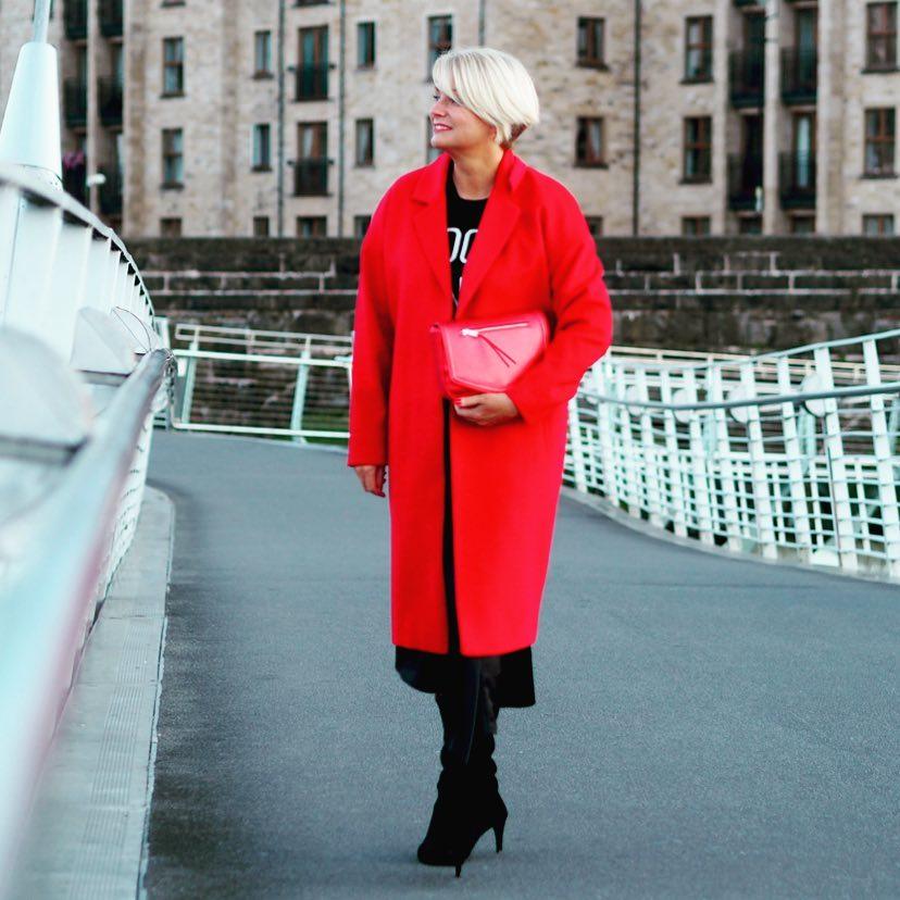 с чем носить пальто женщинам 40-50 лет фото 3