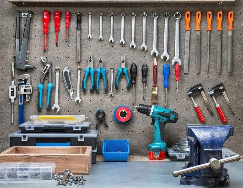 Организация инструментов фото 5