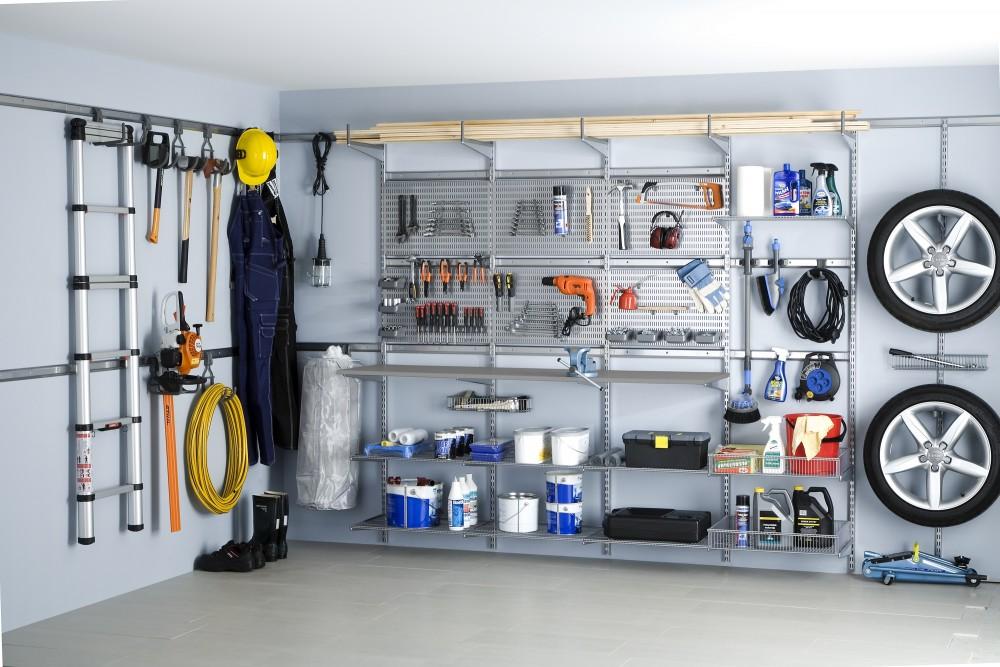 идеи организации пространства в вашем гараже фото 10