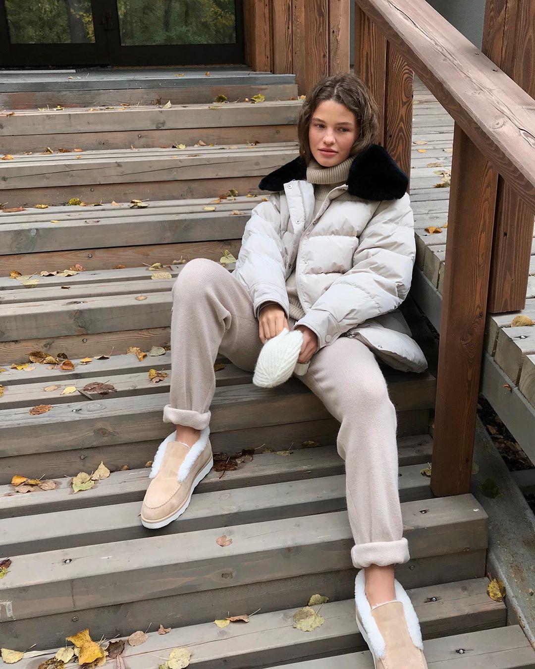 с чем носить зимние куртки с мехом фото 3