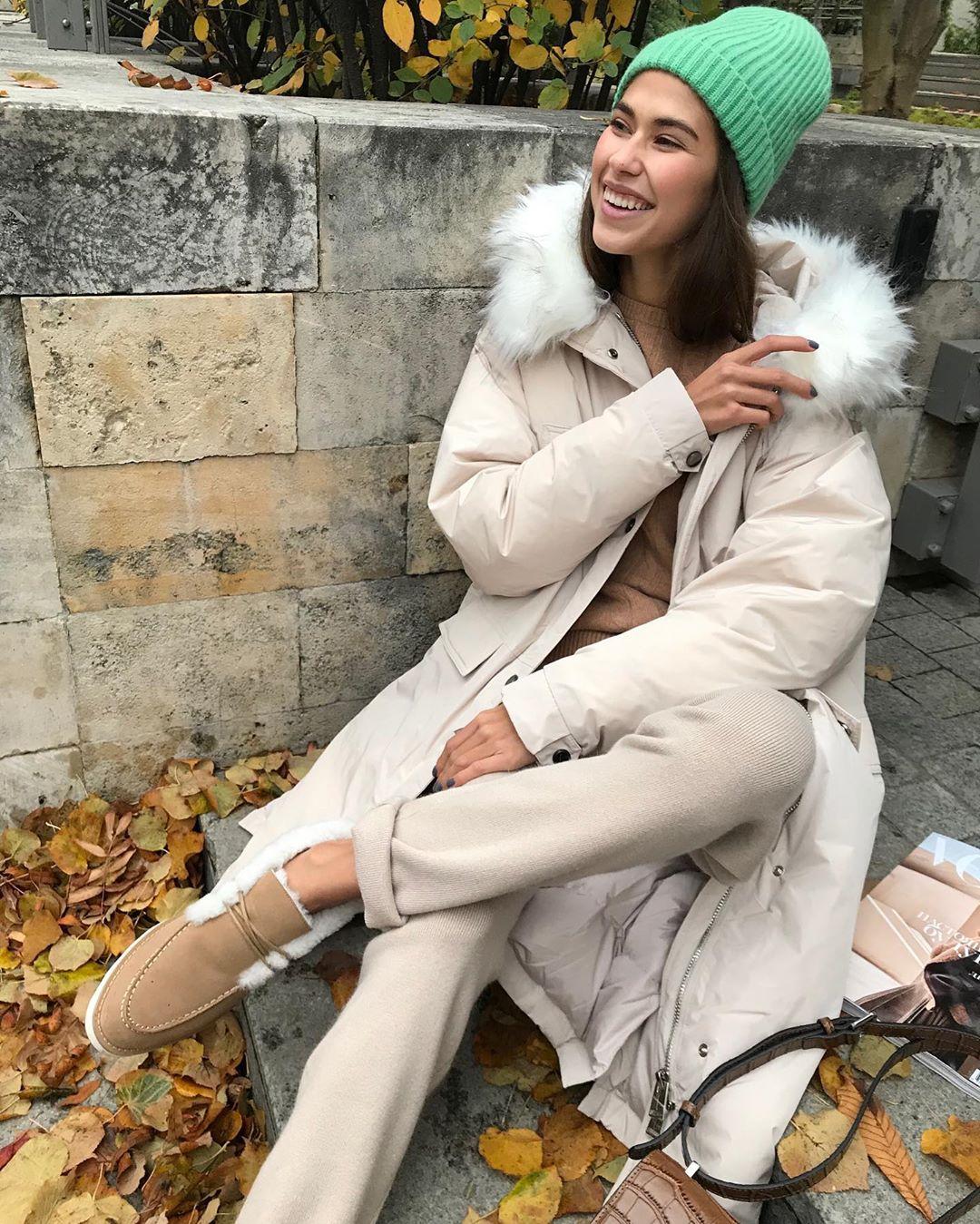 с чем носить зимние куртки с мехом фото 4