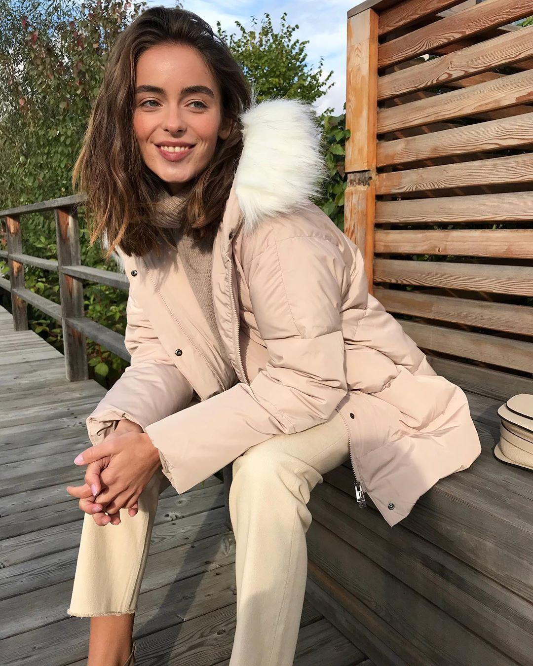 с чем носить зимние куртки с мехом фото 7