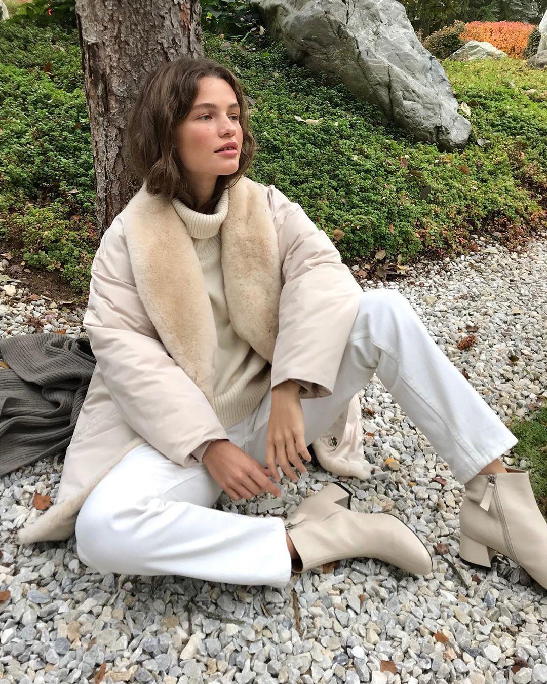 с чем носить зимние куртки с мехом фото 2