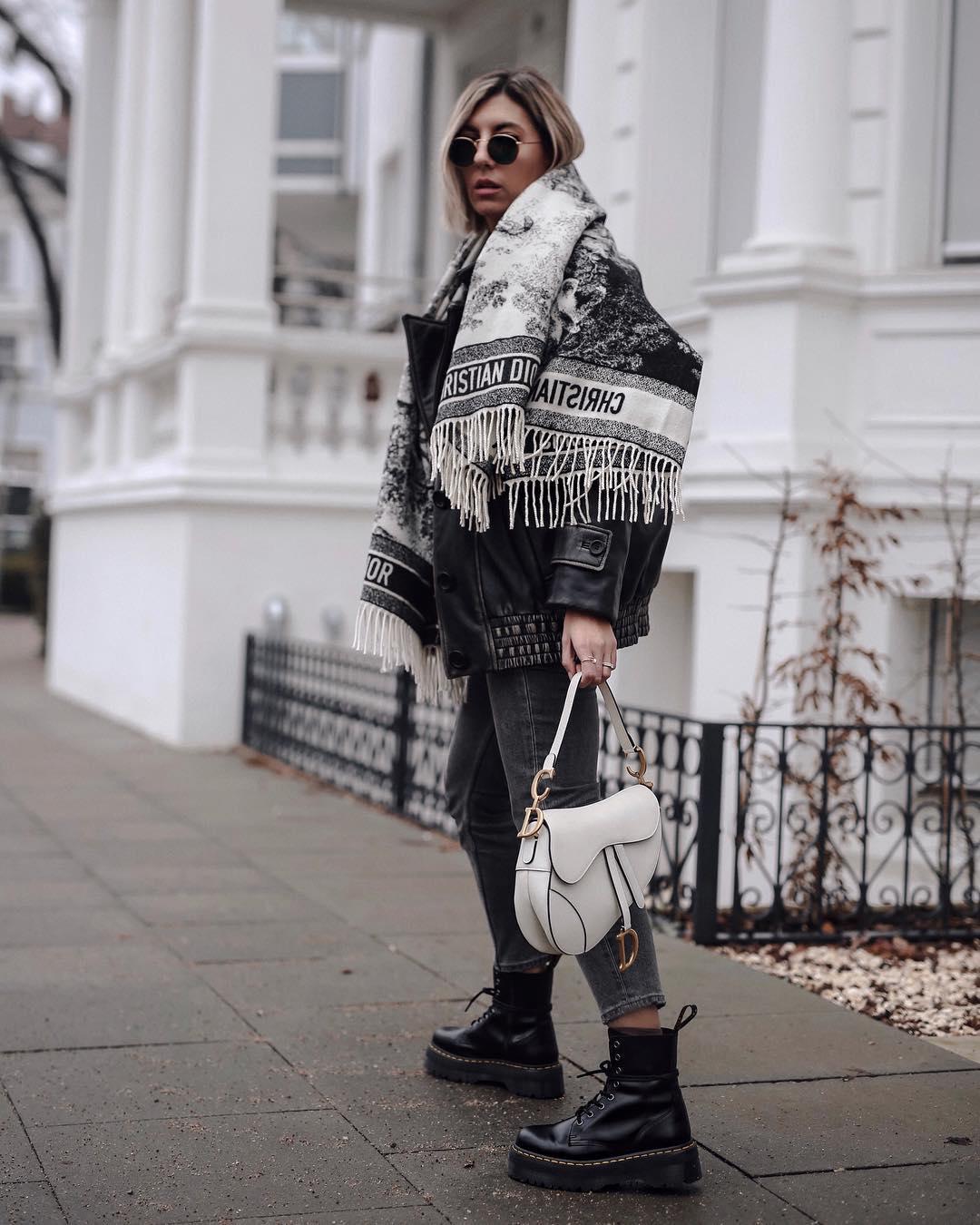 с чем носить джинсы зимой фото 13