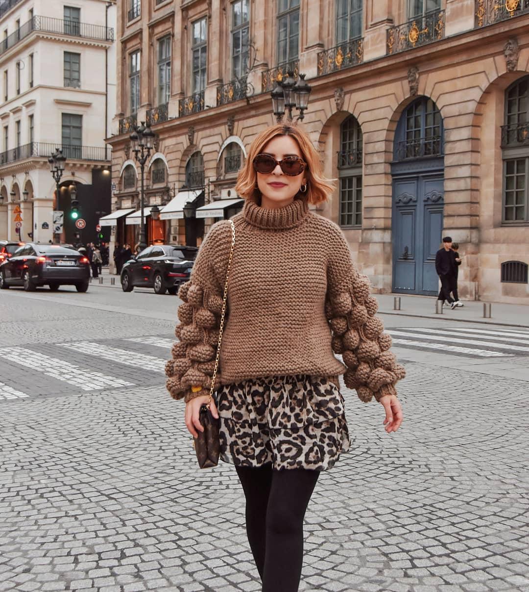 с чем носить свитер женщинам после 40-50 лет фото 7