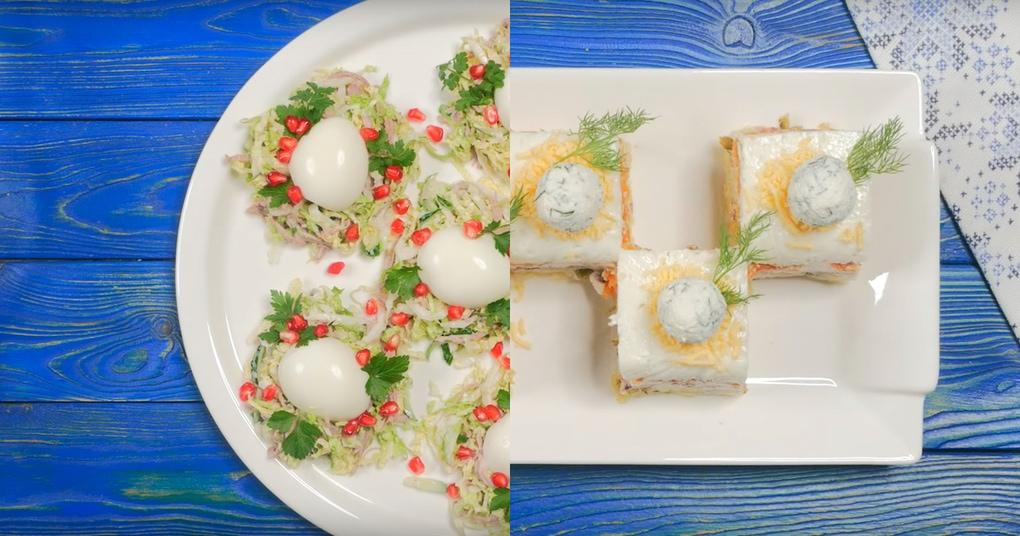 dva genialnyh salata kotorye ukrasjat novogodnij stol