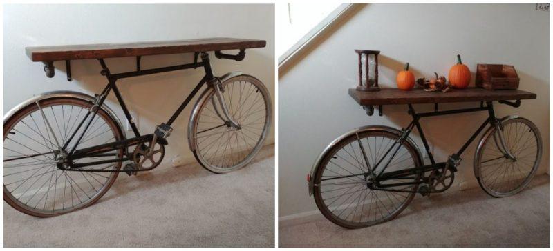 netrivialnoe ispolzovanie nenuzhnogo velosipeda