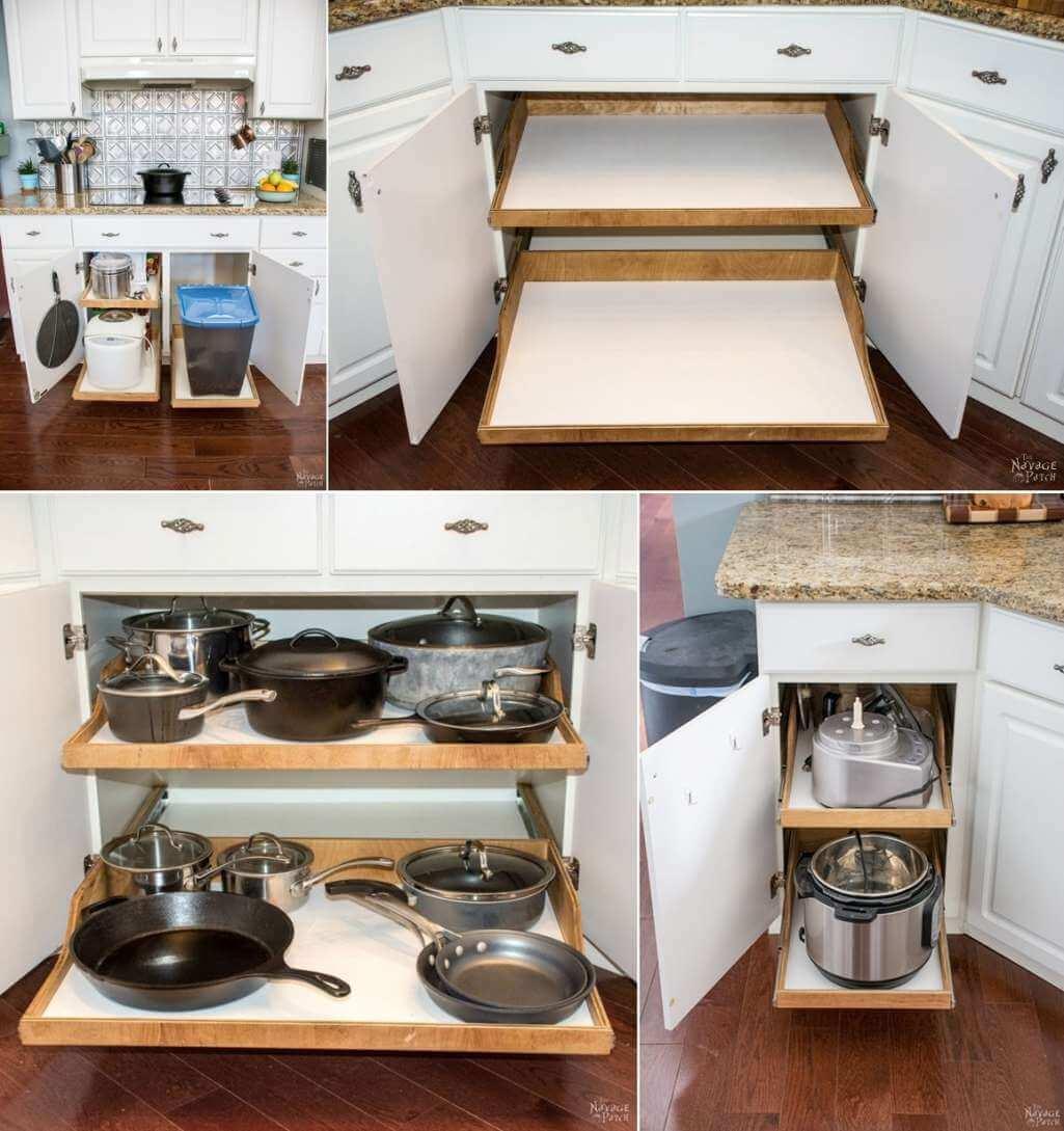 Организация пространства на кухне фото 2