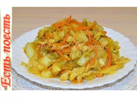 salat iz pekinskoy kapusty a lya po koreyski 1