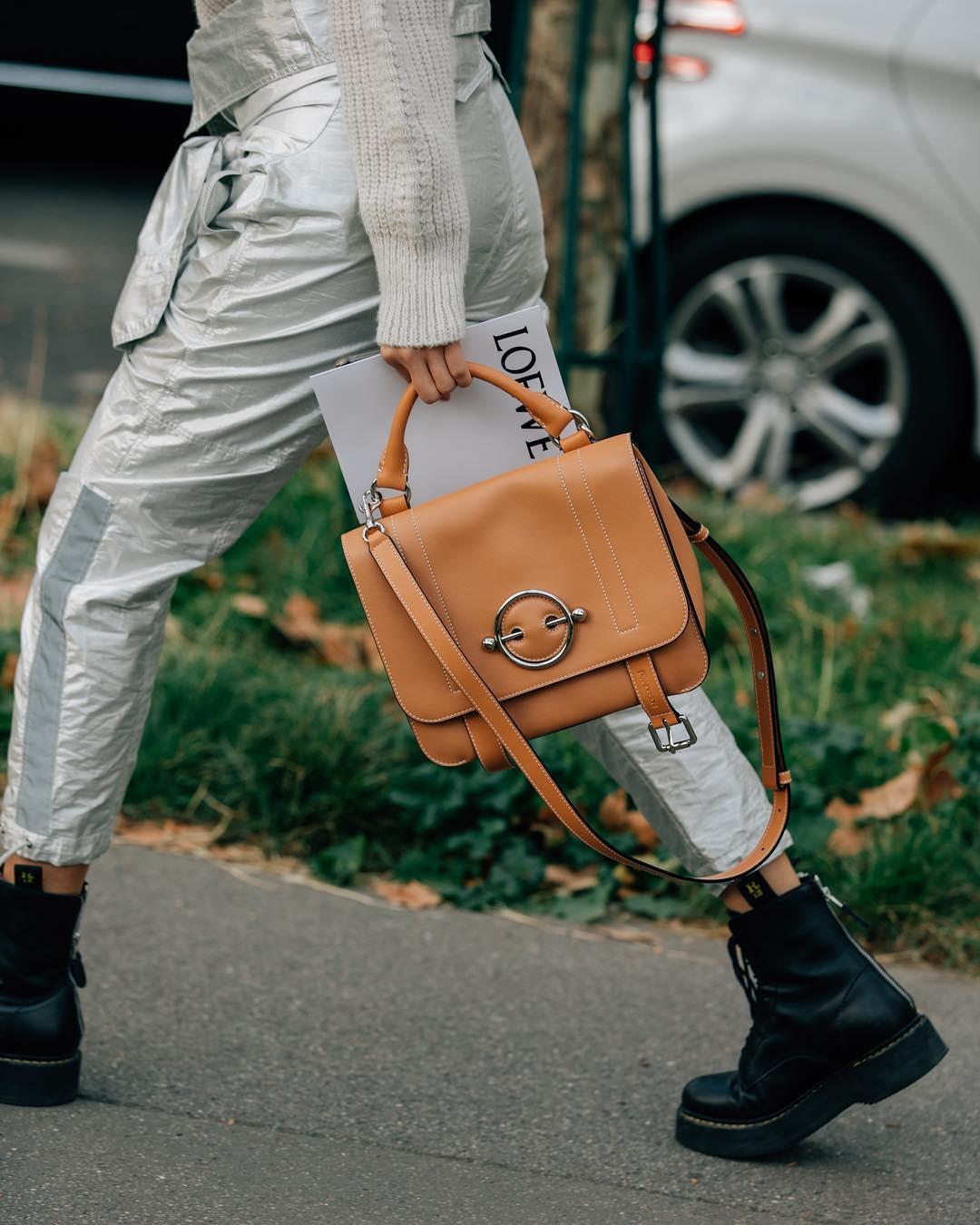 коричневая сумка фото 3