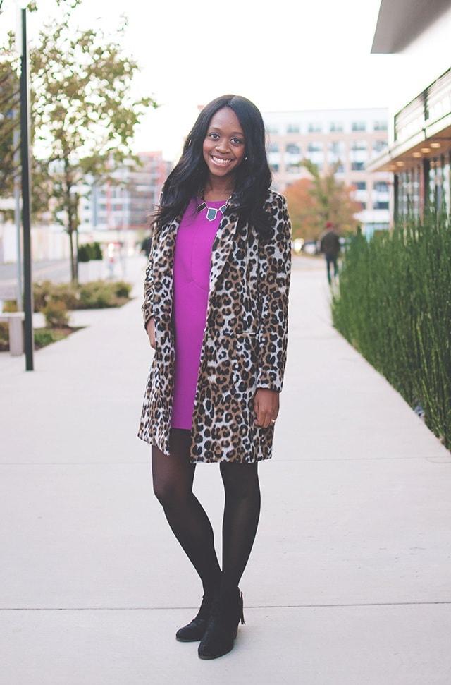 10 sposobov nosit leopardovoe palto chtoby vsegda ostavatsja v centre vnimanija