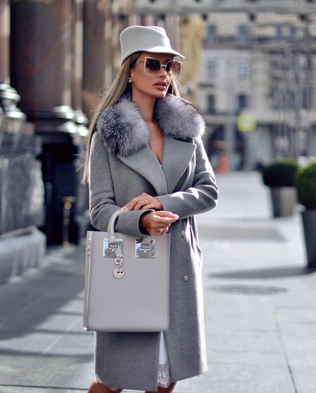 Пальто зимнее с мехом 2020 фото 12