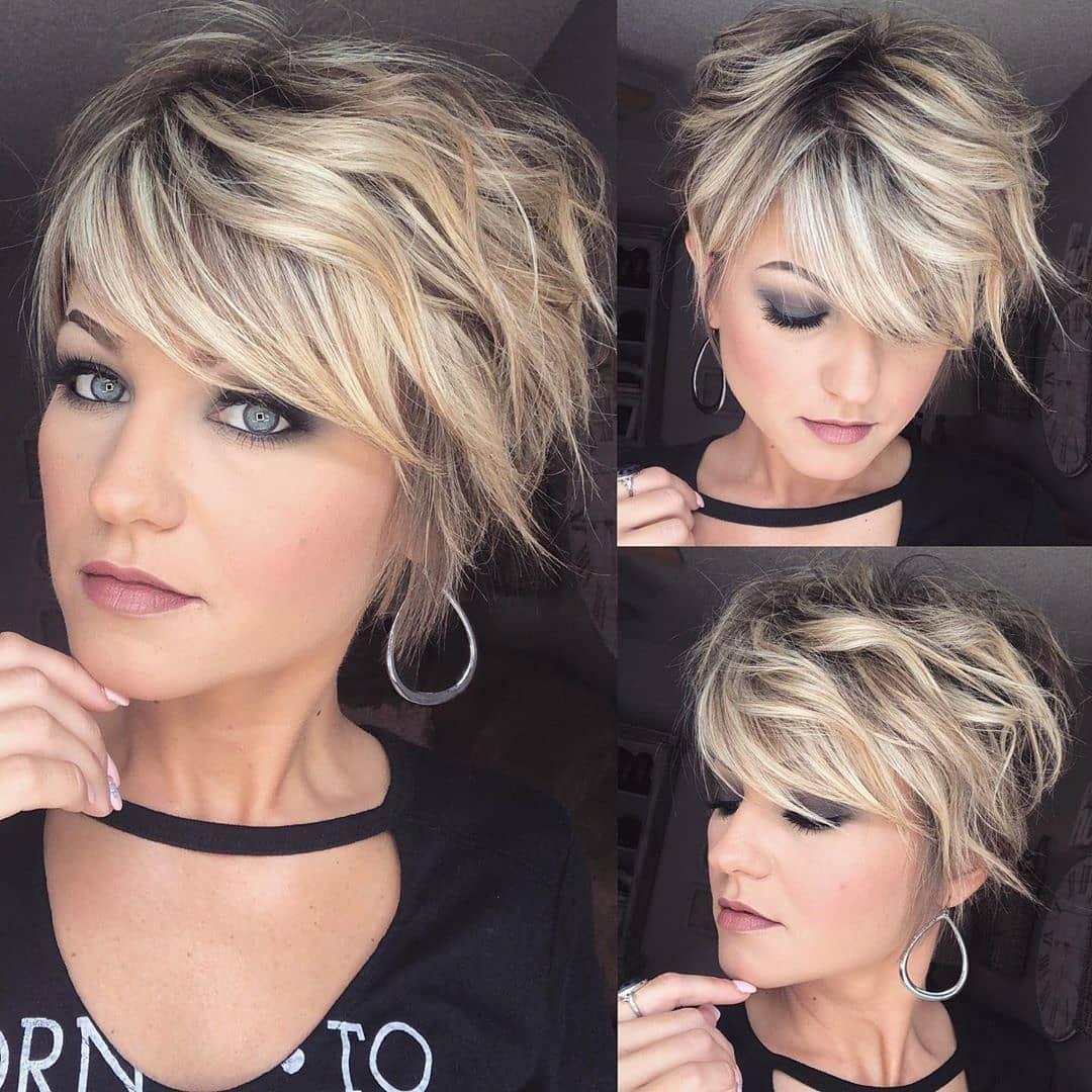 стрижка боб на волнистые волосы фото 15