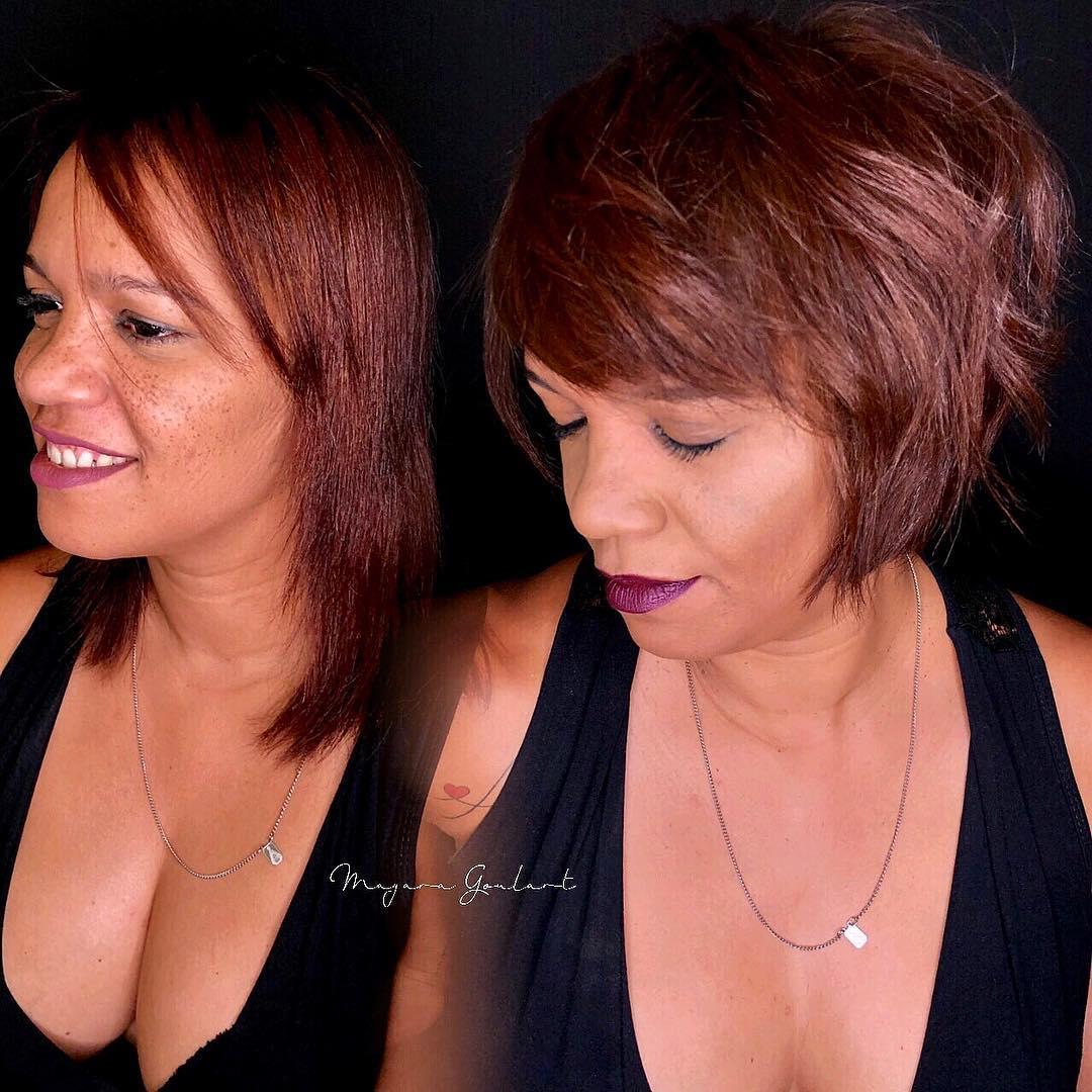 стрижки после 60 лет на редкие волосы фото 10