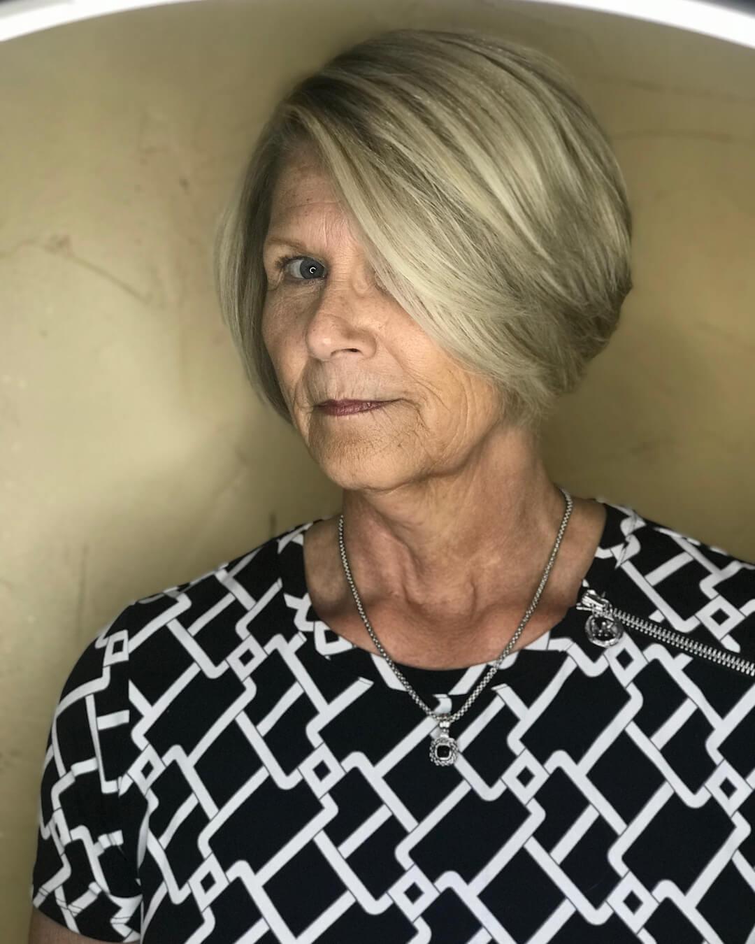 стрижки для женщин после 50 лет фото 8