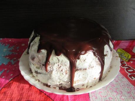 Рецепт вкусного домашнего тортика, за 300 руб