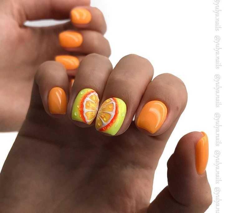 jarkie idei apelsinovogo manikjura 0357a6c